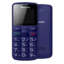 """Panasonic KX-TU110EXC (Dual SIM) Μπλε 1.77"""" Easy Phone με πλήκτρο SOS, Bluetooth και Μεγάλα Γράμματα"""