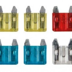 AMIO set mini μαχαιρωτών ασφαλειών αυτοκινήτου 02216, 10τμχ