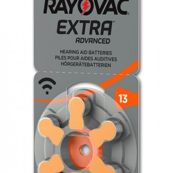 RAYOVAC μπαταρίες ακουστικών βαρηκοΐας 13MF, mercury free, 1.4V, 6τμχ