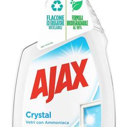 AJAX Καθαριστικό spray για τζάμια Crystal, ανταλλακτικό, 750ml