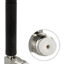 DELOCK GSM quadband κεραία 88767, FME, 2 dBi, 90° Omnidirectional, μαύρη