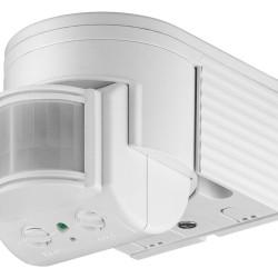GOOBAY ανιχνευτής κίνησης 95175, εξωτερική χρήση, IP44, 180°, 12m, λευκό