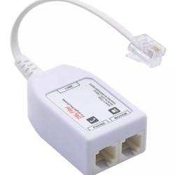 POWERTECH VDSL Splitter με φίλτρο ADSL-06, RJ11, λευκό