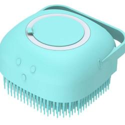 Βούρτσα καθαρισμού για κατοικίδια AG672D, 84x60x84mm, turquoise