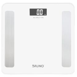 BRUNO Smart ψηφιακή ζυγαριά με λιπομετρητή BRN-0058, έως 180kg, λευκή