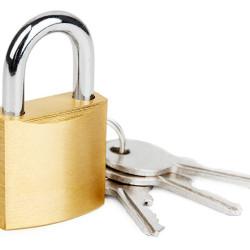 CTECH λουκέτο ασφαλείας με κλειδί CTL-0012, 50mm, μεταλλικό