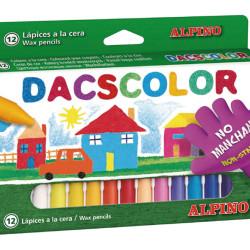 ALPINO χρωματιστές κηρομπογιές DC050290, 12 τμχ