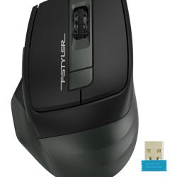 A4TECH ασύρματο ποντίκι Fstyler FG35, 2000DPI, 6 πλήκτρα, μαύρο