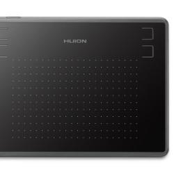 "HUION pen tablet H430P, 4.8 x 3"", battery-free pen, 4 πλήκτρα, μαύρο"