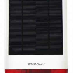WOLF GUARD ασύρματη ηλιακή σειρήνα εξωτερικού χώρου JD-W06