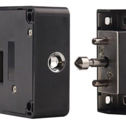 KERONG ηλεκτροπύρος KR-S61A, με RFID reader, κρυφός, μαύρος