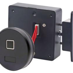 KERONG ηλεκτροπύρος KR-S8064RF, με fingerprint, μαύρος
