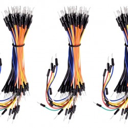 KEYESTUDIO 65x jumper wire pack KS0333, για Arduino DIY breadboard, 3τμχ