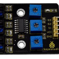 KEYESTUDIO 3-channel infrared line tracking sensor KS0453