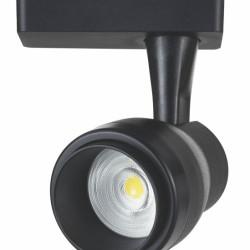 LIPER LED track light LPTRL-15E01, IP20, 15W 4000K, μεταλλικό, μαύρο