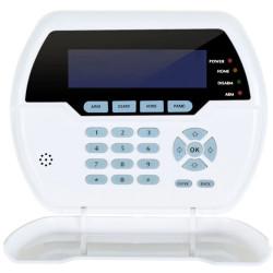 Ασύρματο πληκτρολόγιο PB-502R, με LCD