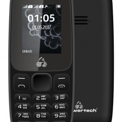 POWERTECH Κινητό Τηλέφωνο Milly Small ΙΙ NC PTM-28, χωρίς κάμερα, μαύρο
