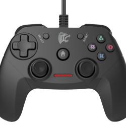 ROAR ενσύρματο gamepad R100WD, με vibration, PC, PS3 & Android TV box
