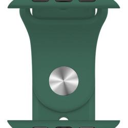 ROCKROSE band σιλικόνης Rough Jade για Apple Watch 42/44mm, πράσινο
